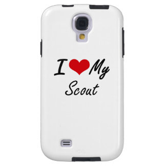 I love my Scout Galaxy S4 Case
