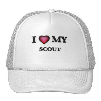 I love my Scout Trucker Hat