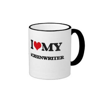 I love my Screenwriter Mugs