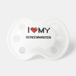 I love my Screenwriter BooginHead Pacifier