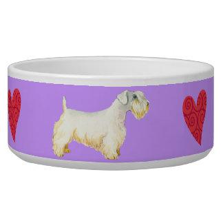 I Love my Sealyham Terrier Bowl