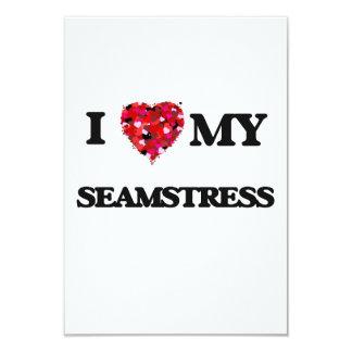 I love my Seamstress 3.5x5 Paper Invitation Card