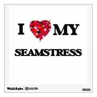 I love my Seamstress Wall Stickers