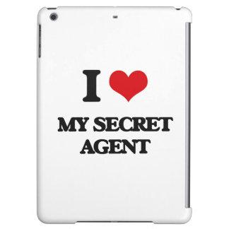 I Love My Secret Agent iPad Air Cases
