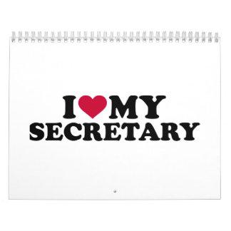 I love my secretary calendar