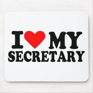 I love my secretary mouse pad