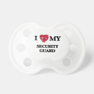 I love my Security Guard BooginHead Pacifier