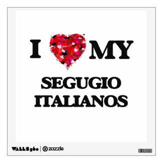 I love my Segugio Italiano Wall Graphic