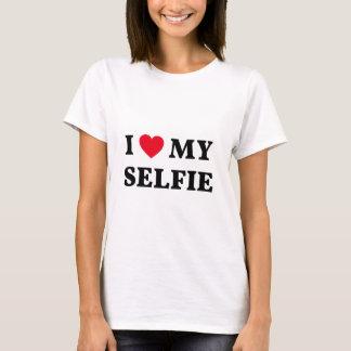 I love my selfie, word art, text design T-Shirt