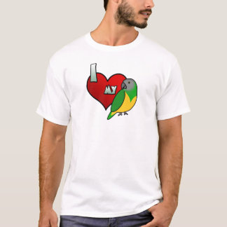 I Love my Senegal Parrot T-Shirt