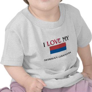 I Love My Serbian Grandma Tee Shirt