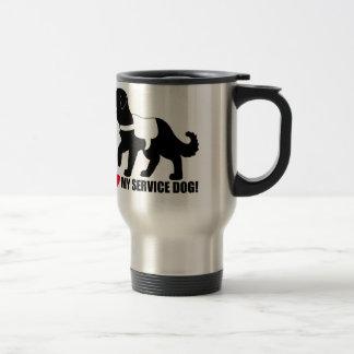 I Love My Service Dog! Travel Mug