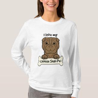 I Love My Shar-Pei T-Shirt