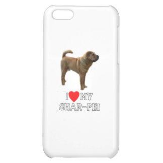 I Love My Sharpei iPhone 5C Covers