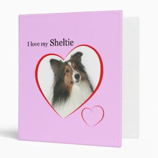I Love my Sheltie #2 Binder