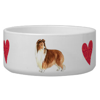 I Love my Sheltie Bowl