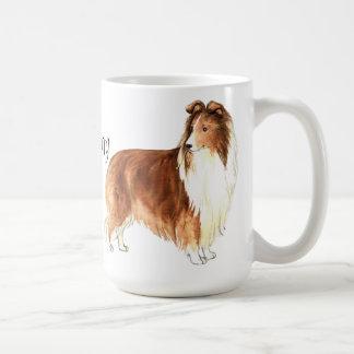 I Love my Sheltie Coffee Mug