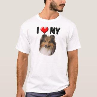 I Love My Sheltie T-Shirt