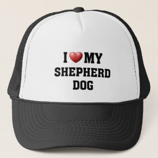 I love my Shepherd Dog Trucker Hat