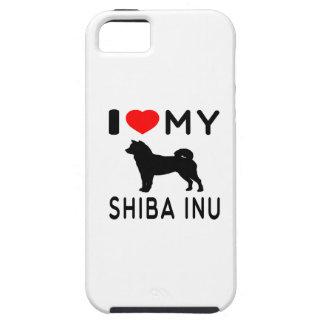 I Love My Shiba Inu iPhone 5 Case