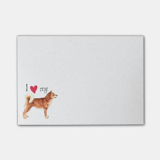 I Love my Shiba Inu Post-it® Notes