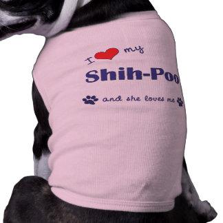 I Love My Shih-Poo (Female Dog) Tee