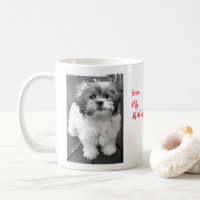 I Love My Shih Tzu Bichon Coffee Mug