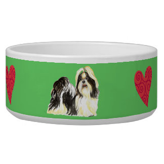 I Love my Shih Tzu Bowl