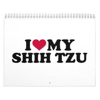I love my Shih Tzu Calendar