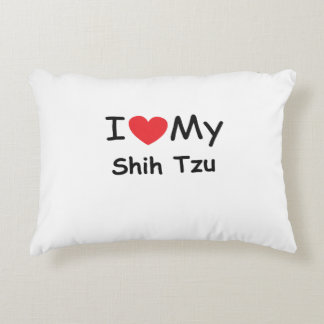 I love my Shih Tzu dog Accent Pillow