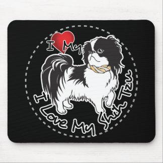 I Love My Shih Tzu Dog Mouse Pad