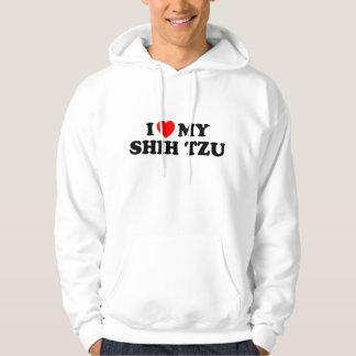 I Love my Shih Tzu Hooded Sweatshirt