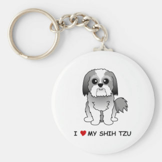 I love my Shih Tzu Key Ring