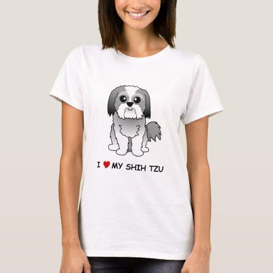 I love my Shih Tzu Ladies' T-Shirt