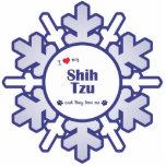 I Love My Shih Tzu (Multiple Dogs) Photo Cutout