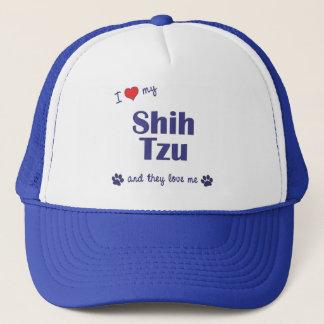 I Love My Shih Tzu (Multiple Dogs) Trucker Hat