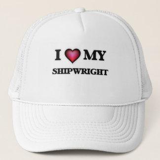 I love my Shipwright Trucker Hat