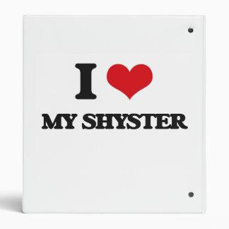 I Love My Shyster Vinyl Binder