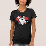 I Love my Siberian Husky Dark T Shirt