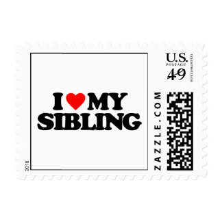 I LOVE MY SIBLING STAMP