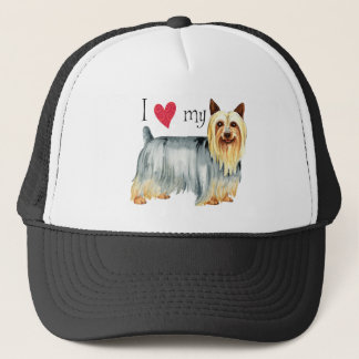 I Love my Silky Terrier Trucker Hat