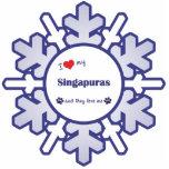 I Love My Singapuras (Multiple Cats) Photo Sculptures