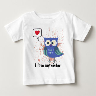 I love my sister doublet gift baby T-Shirt