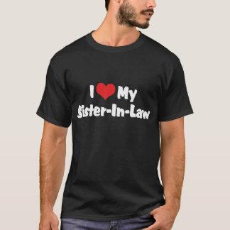 I Love My Sister In Law Dark T-Shirt