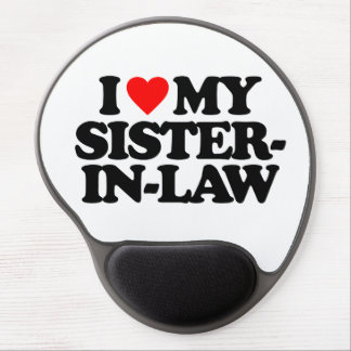 I LOVE MY SISTER-IN-LAW GEL MOUSE PAD