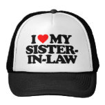 I LOVE MY SISTER-IN-LAW HATS