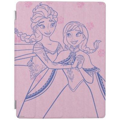 I Love My Sister iPad Cover