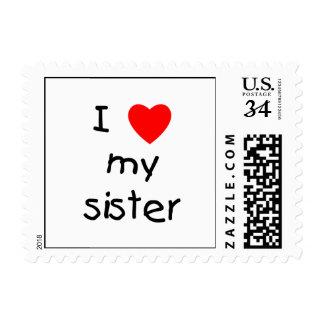 I Love My Sister Postage