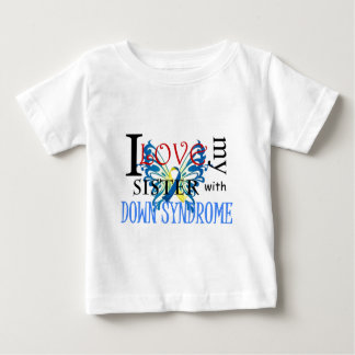 I Love My Sister with Down Syndrome T-shirt