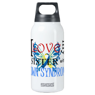I Love My Sister with Down Syndrome Thermos Bottle